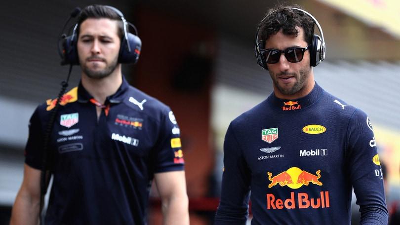 F1 Red Bull, Ricciardo penalizzato a Monza per il cambio motore