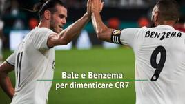 Bale e Benzema per dimenticare CR7