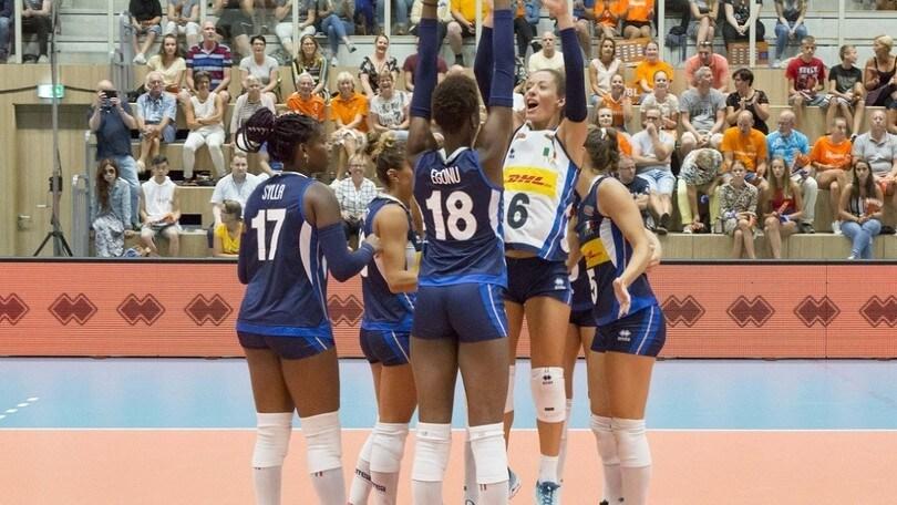 Volley: L'Italia femminile in raduno al Centro Pavesi