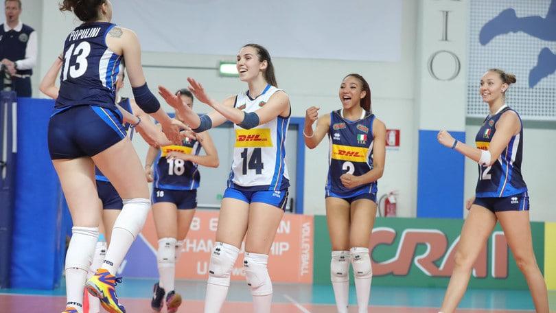 Volley: Bellano ha scelto le Under 19 per l'Europeo