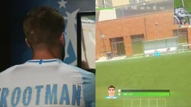Strootman, il video di presentazione in stile Fortnite