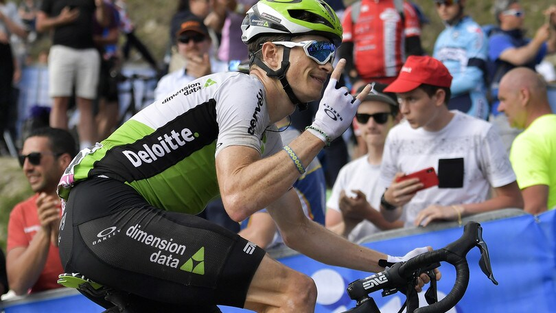 Vuelta, all'americano King la quarta tappa. Kwiatkowski rimane leader