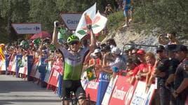 Vuelta - 4ª tappa a King, Kwiatkowski leader