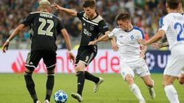Champions: passano Ajax,Aek e Young Boys