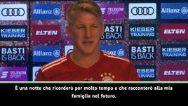 Schweinsteiger e l'addio al calcio: