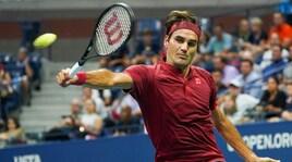 Us Open, debutto senza problemi per Federer