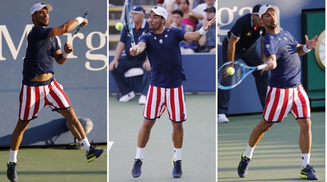 Il tennista ligure ha esordito nel suo undicesimo Flushing Meadows battendo 4-6, 6-2, 6-4, 7-6 (7-4) il 20enne statunitense Michael Mmoh