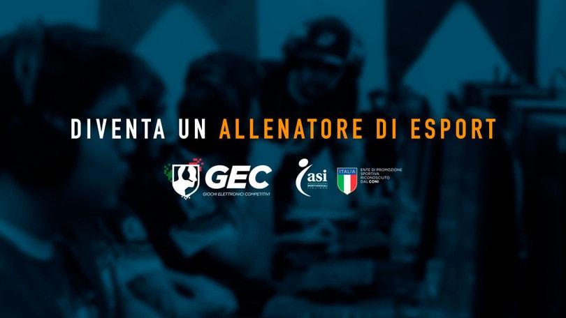 GEC: presentati i corsi di formazione per allenatore dell'esport