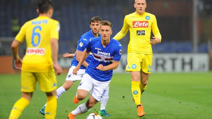 Serie A Sampdoria, si cerca in casa il vice Praet