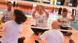 Sitting Volley: