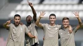 Juventus al lavoro, Cristiano Ronaldo è già leader del gruppo