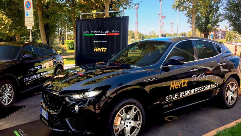 F1: anche Hertz 'corre' il Gp d'Italia