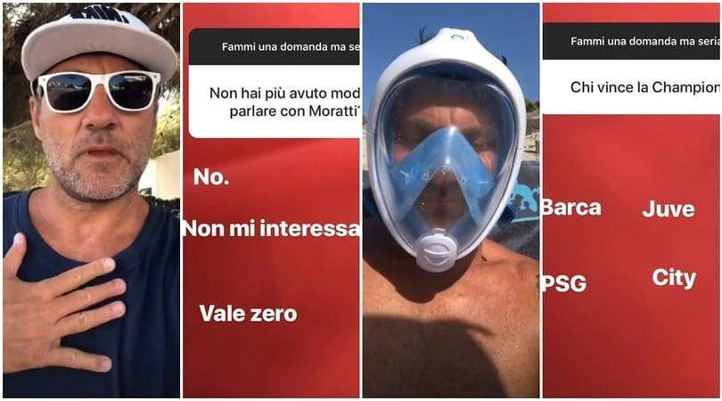 Duro attacco di Christian Vieri a Massimo Moratti
