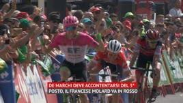 Vuelta - A Clarke la 5ª tappa, De Marchi 3° e Molard in rosso