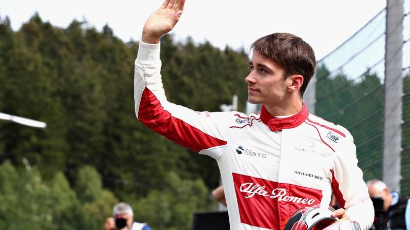 F1 Alfa Sauber, Leclerc: «Sogno la Ferrari fin da bambino»