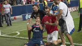 Champions: Stella Rossa,festa a Belgrado