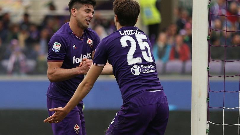 Serie A Fiorentina, Chiesa-Simeone tandem di certezze
