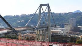 Crollo ponte, riunioni in Regione