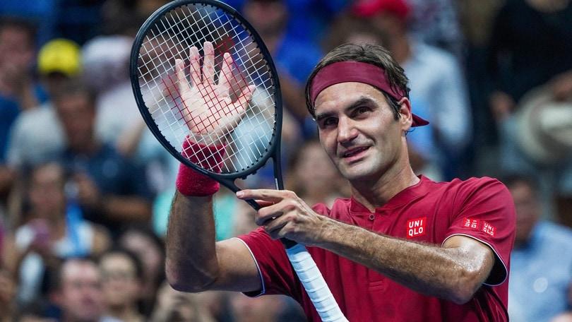 Tennis: Federer, scintille con Piqué