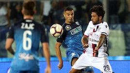 Serie A Cagliari, Castro torna in gruppo