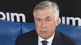 Napoli, Ancelotti: «Psg e Liverpool? Sarà dura anche per loro»