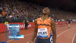 "Diamond League, Lyles domina i 200 m in 19""67"