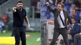 Serie A, Milan-Roma in diretta dalle 20.30: le probabili formazioni
