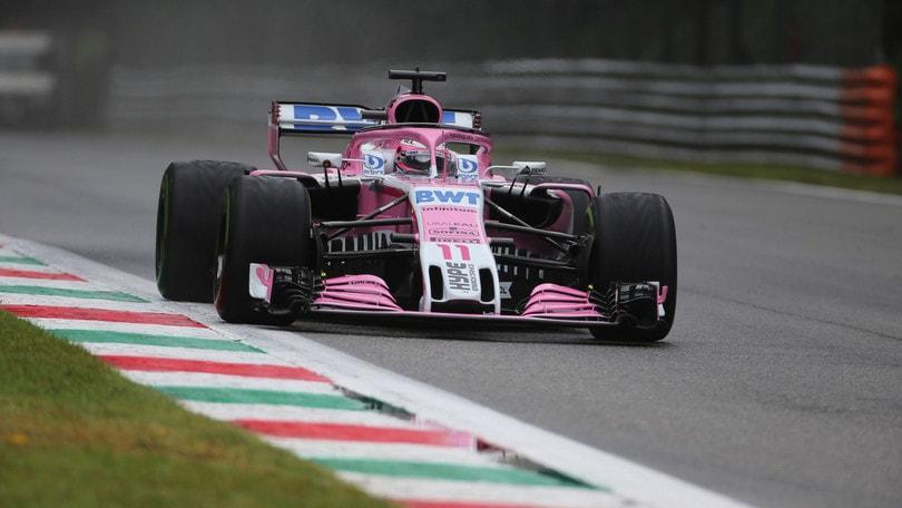 F1 Monza, Libere 1: sorpresa Perez, Vettel 17°