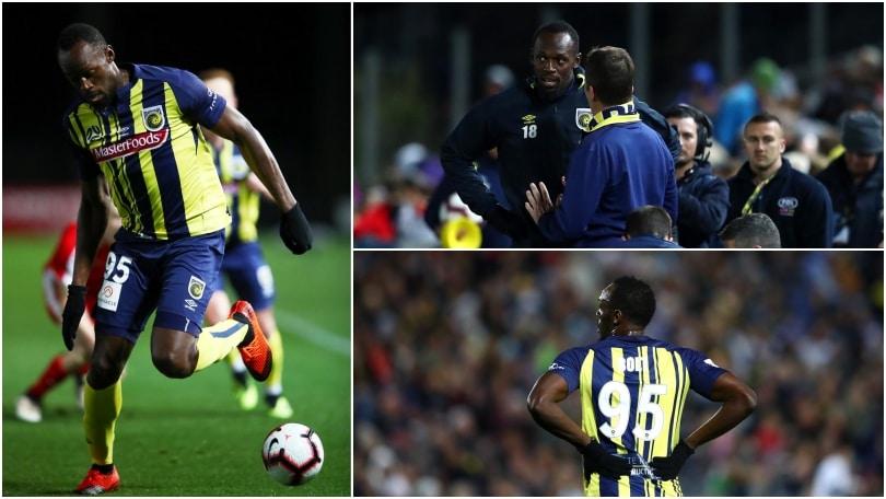 Bolt debutta nel calcio: 20' e nessun gol, tifosi in delirio