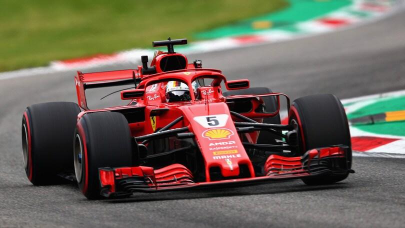 F1 Monza, Libere 2: è grande Ferrari, 1° Vettel  e 2° Raikkonen