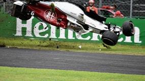 Monza, terribile incidente per Ericsson