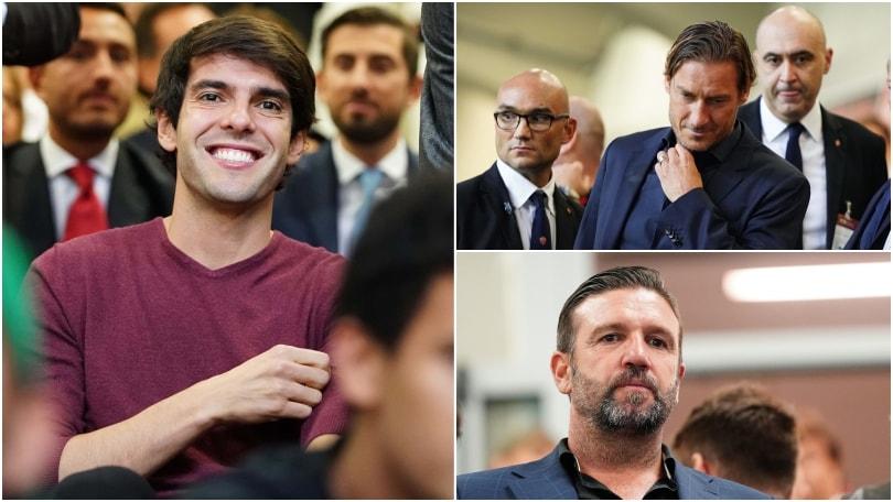 Milan-Roma: da Totti a Kakà,quanti vip a San Siro!