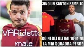 Roma ko con il Milan, tifosi furiosi sui social