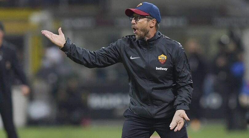 Roma, Di Francesco: «Anche a Milano abbiamo regalato un tempo»