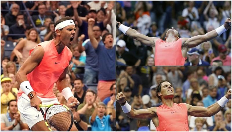 Us Open: Nadal, esplode la gioia dopo la vittoria su Kachhanov