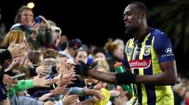 Calcio, Bolt: «Sono fan di Cristiano Ronaldo, mi ispiro a lui»