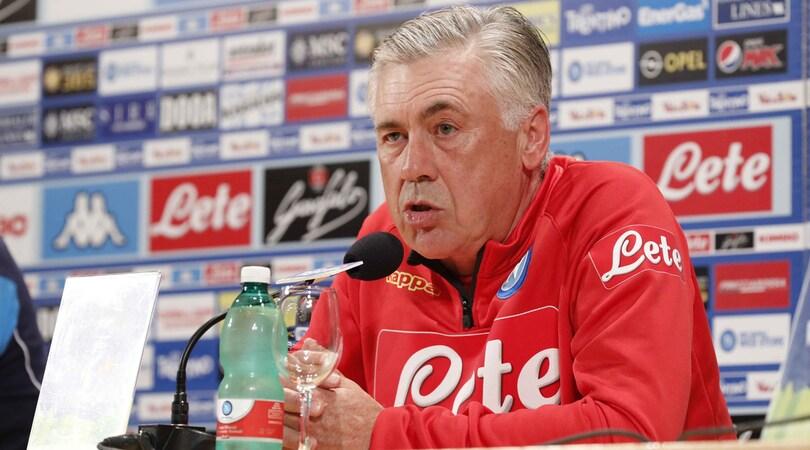 Napoli, Ancelotti: «Champions? Il Psg non starà brindando»