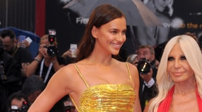 Irina Shayk dorata al Festival di Venezia