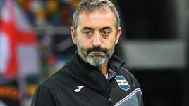 Serie A Sampdoria, Giampaolo: «Napoli avversario quasi impossibile»