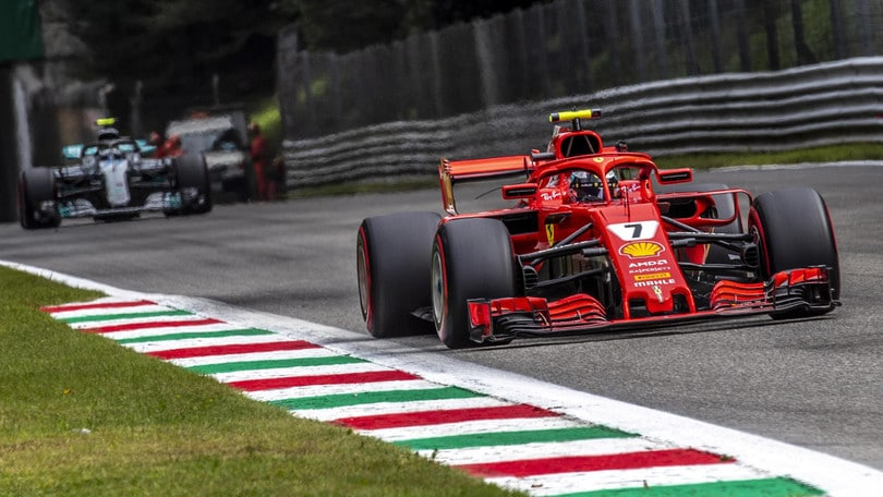f1 griglia di partenza gp monza raikkonen in pole vettel 2 corriere dello sport. Black Bedroom Furniture Sets. Home Design Ideas