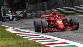 F1, griglia di partenza Gp Monza: Raikkonen in pole, Vettel 2°