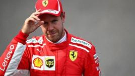 F1 Monza, Ferrari, Vettel: «Non sono contento»