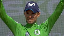 Vuelta, 8ª tappa - Vince Valverde, Molard resta in rosso