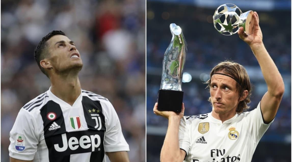 """Prima della sfida con il Leganes i tifosi del Real Madrid hanno osannato il croato, che ha avuto la meglio su CR7 ed è stato eletto """"Miglior giocatore Uefa"""""""