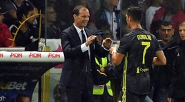 Juventus, Allegri tranquillizza Ronaldo: «Gioie individuali arriveranno»