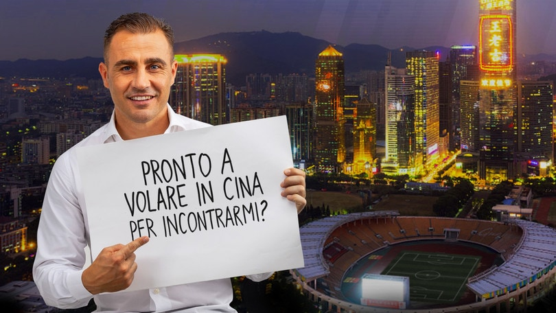 Cannavaro benefico su Wishraiser.com