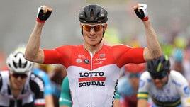 Ciclismo, Giro Gran Bretagna al via: Greipel vince in volata la prima tappa