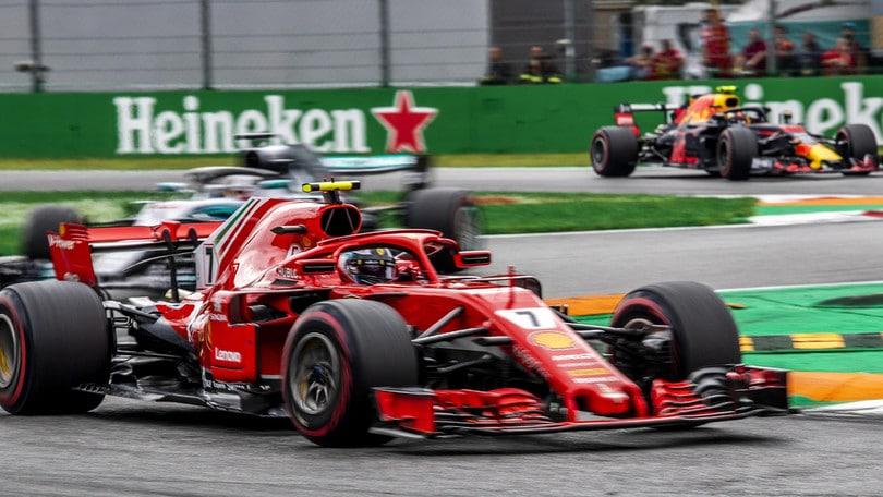 F1 Monza, Raikkonen: «Problema alla gomma. Non ho potuto più combattere»