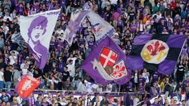 Serie A FIorentina, 700 tifosi accompagnano la squadra al Franchi