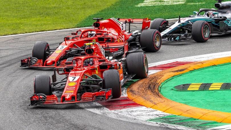 F1 Monza, team-radio di Vettel: «È stato un tentativo stupido»